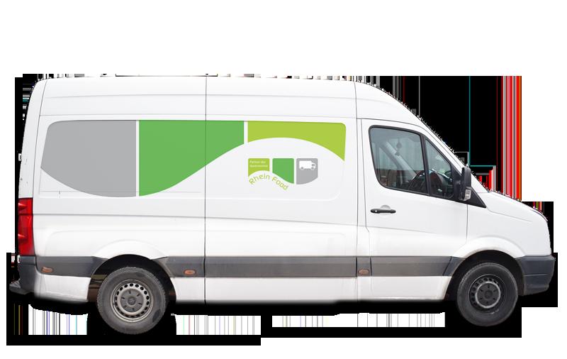 Lieferwagen Rheinfood