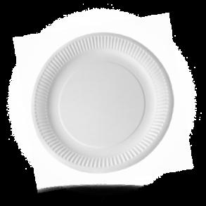 Pappteller in Mengen für die Gastronomie