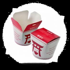 To Go Box für chinesisches Essen